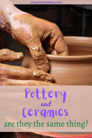 whats the difference between pottery and ceramics