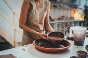 pottery tips about glazing a bowl