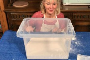 How to make a damp box for clay