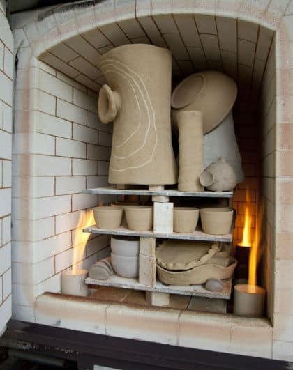 A Gas Kiln for Firing Clay