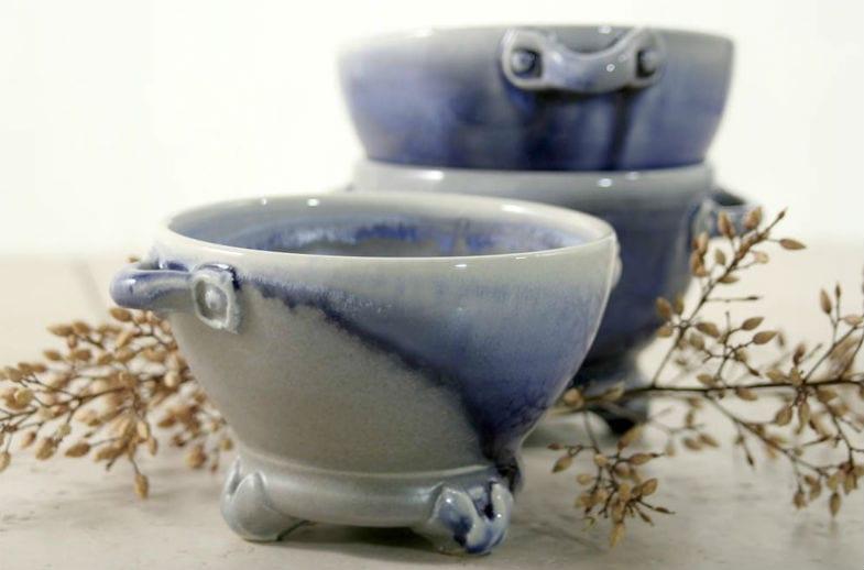 Flashing in ceramics