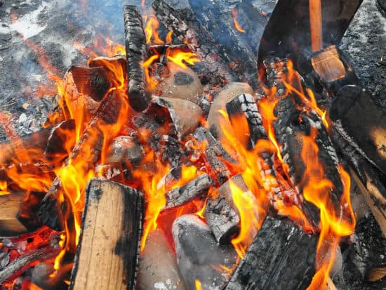 Pit Firing Clay