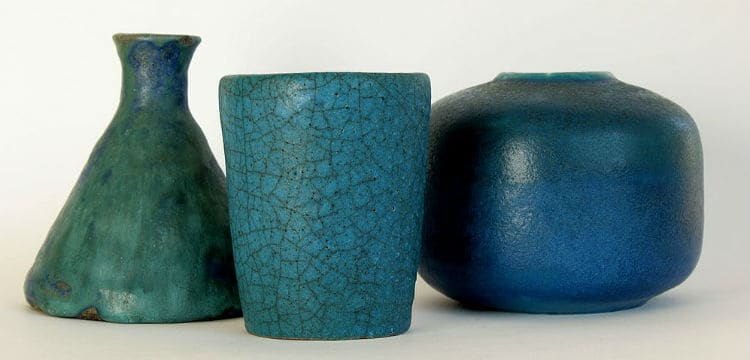 oxidation and reduction in pottery