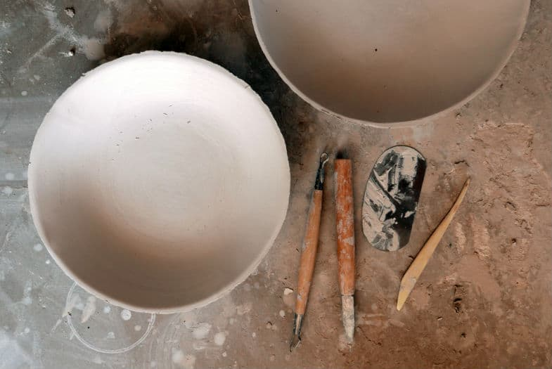 how to rehydrate bone dry clay