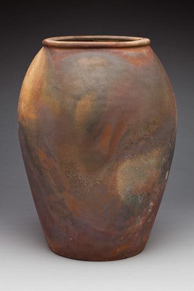 wood burning kiln for firing clay
