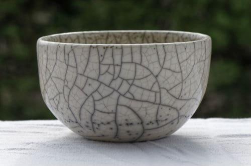 How to clean naked raku pottery