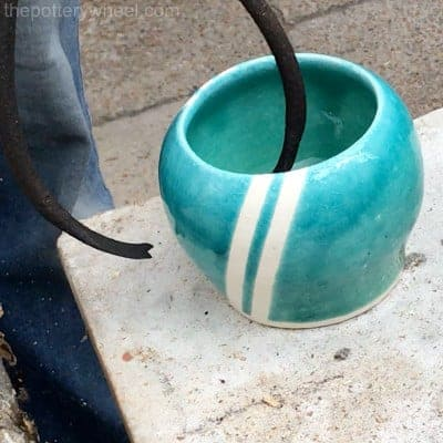 how to glaze raku pottery