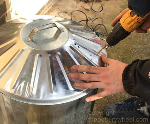 how to make a raku kiln
