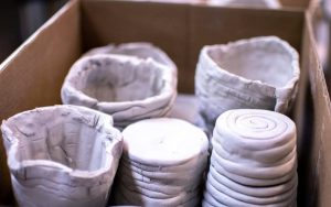 transporting greenware pottery