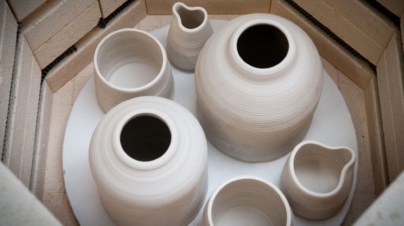 can I have a pottery kiln at home