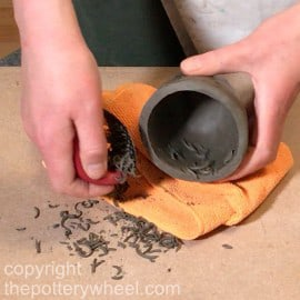 hand built pottery without a wheel