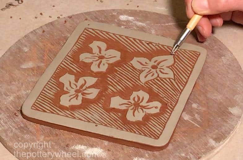 how to make sgraffito pottery