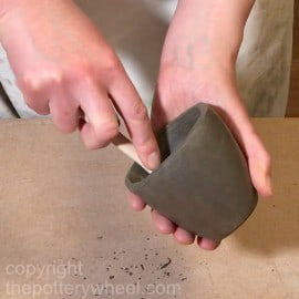 pottery without a potters wheel