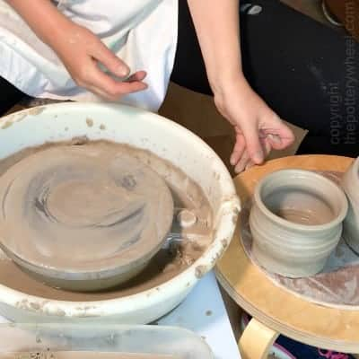how to remove a pot from the pottery wheel copy