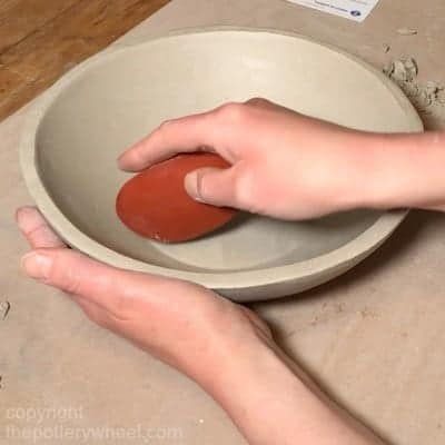 making a plaster hump mold for bowls