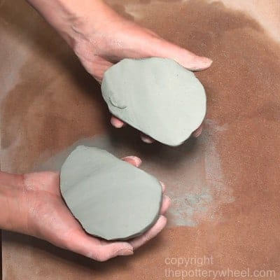 how to make colored clay using mason stains