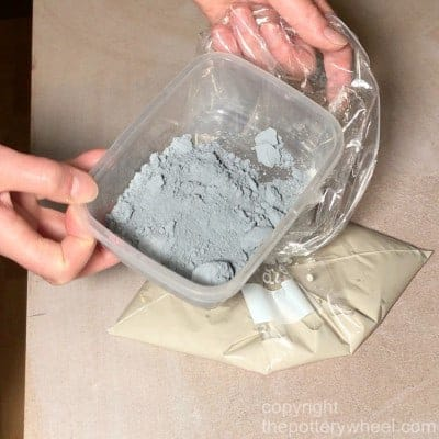 how to make colored clay with mason stains