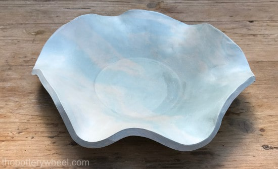make marbled pottery