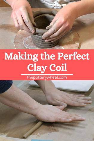 roll a clay coil