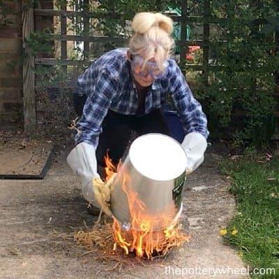 how to raku fire