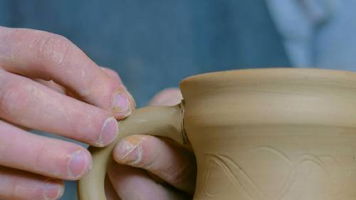 how to make slip for clay