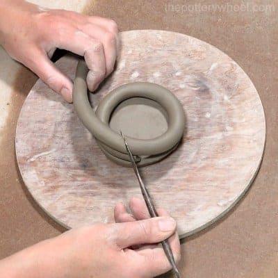 simple coil pots