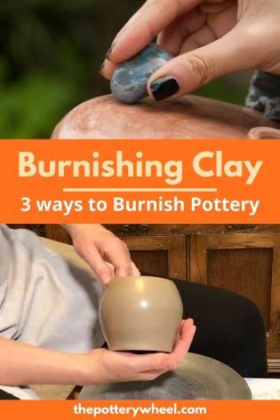 burnishing clay