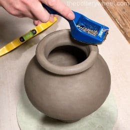 making smooth coil pots