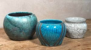 can you seal raku pottery