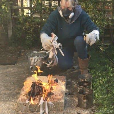 copper fuming raku