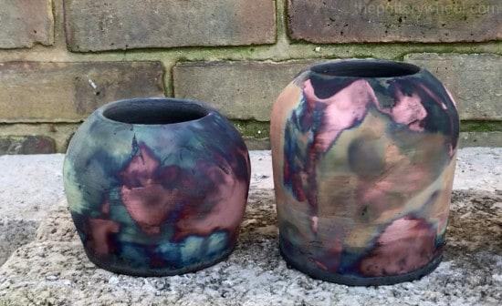 firing copper matte raku