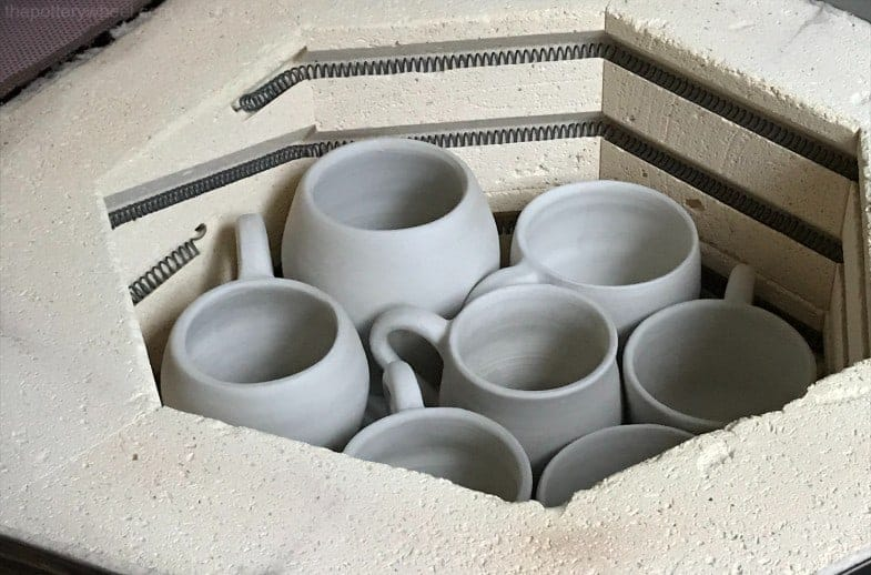 firing greenware to bisque