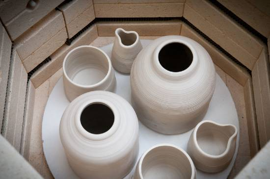 stages of firing clay