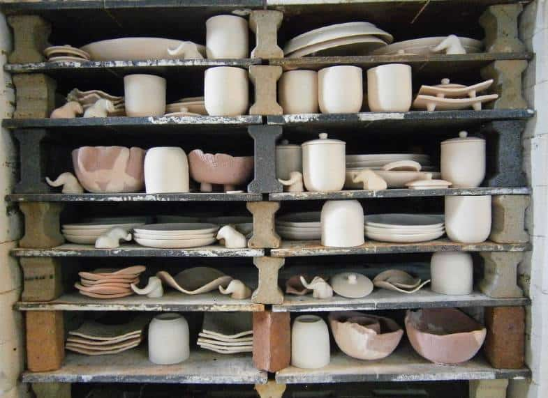 how long does it take to fire clay in a kiln