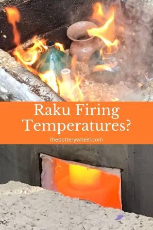 raku firing temperature
