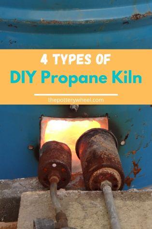 DIY propane kiln