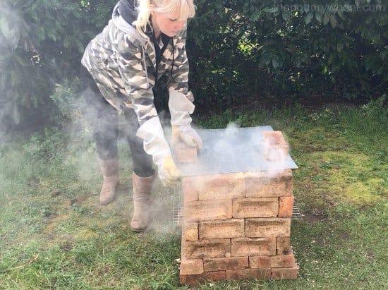 build a brick kiln