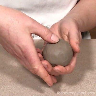 how to make a pinch pot