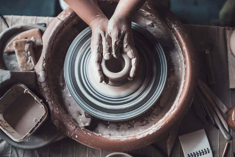 table top pottery wheel