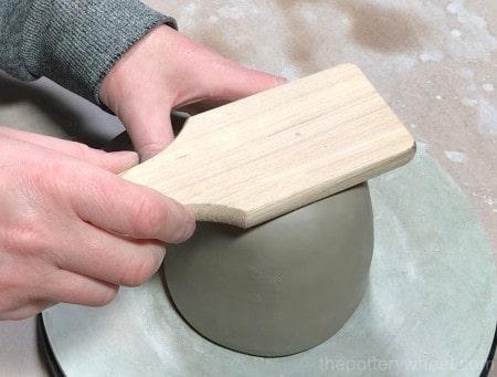 how to make a pinch pot mug