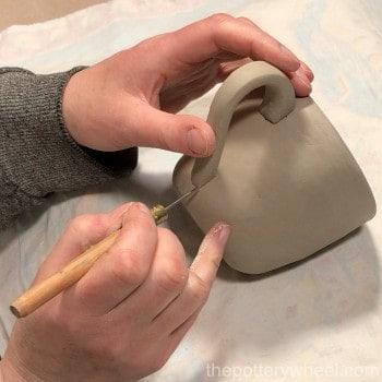 pinch pot mug