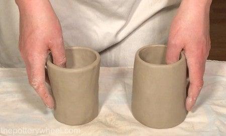 pinch pot mugs