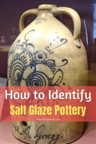 how to identify salt glazed pottery