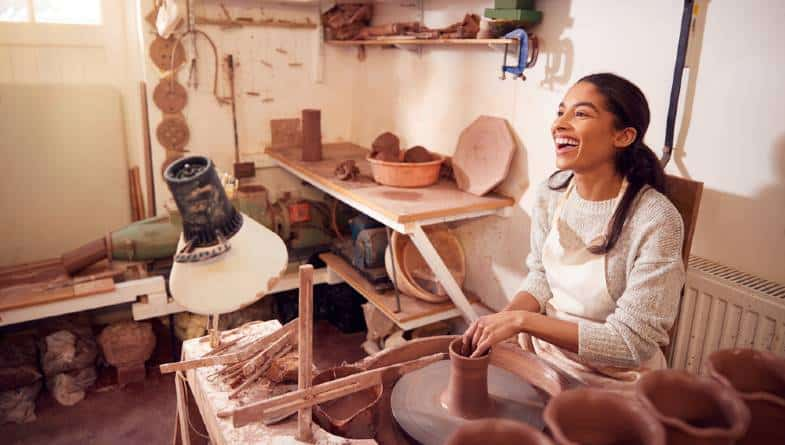 how to become a potter