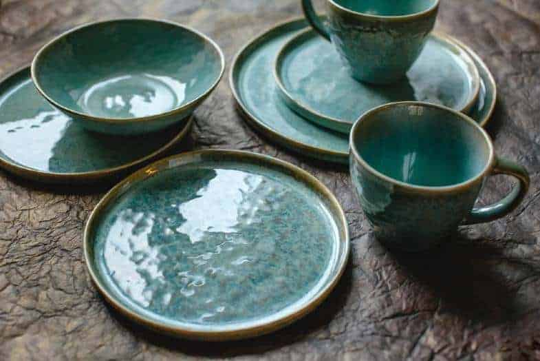 what is earthenware made of