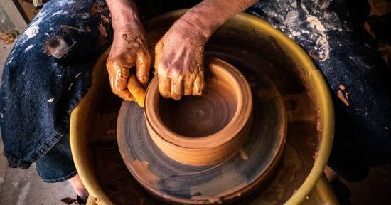 earthenware clay