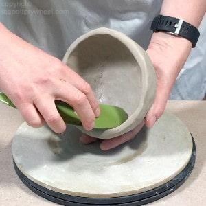 using a platter tool