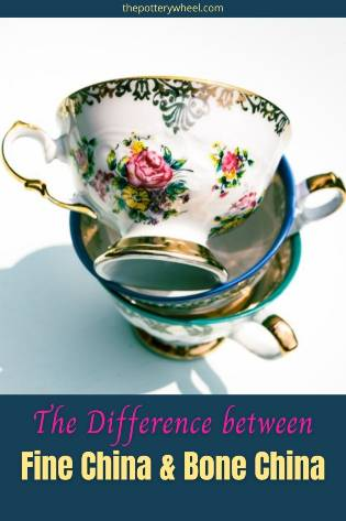 The Difference between fine china and bone china