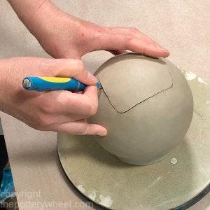 make a clay teapot