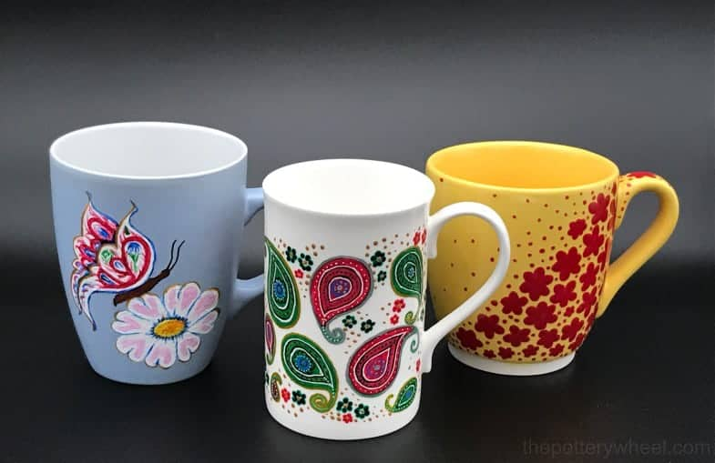painting mugs